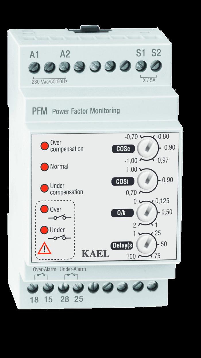 PFM / Aşırı Ve Düşük Kompanzasyon Alarm Cihazı
