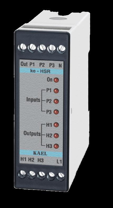 ke-HSR2 / 2 Çıkışlı Hidrafor Sıralama Rölesi
