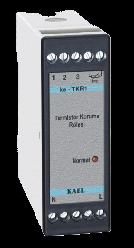 ke-TKR1 / Termistör Koruma Rölesi